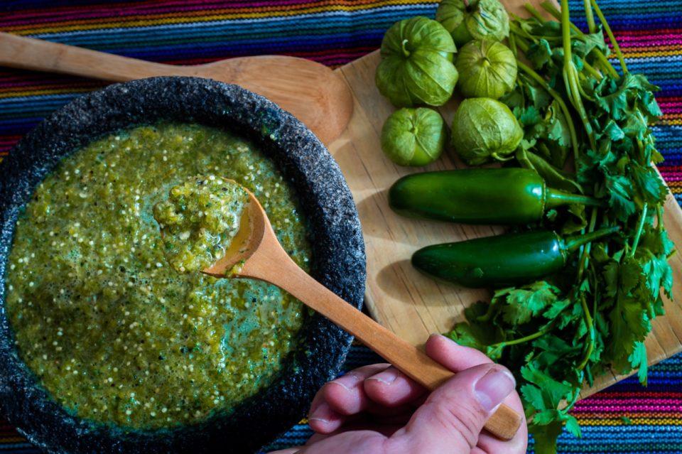 Tradicional salsa verde